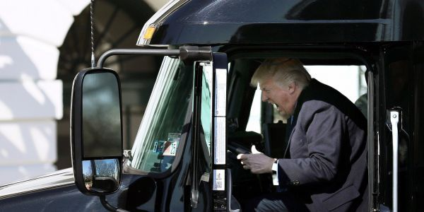 Trump is reportedly open to hiking the gas tax to pay for his giant infrastructure plan