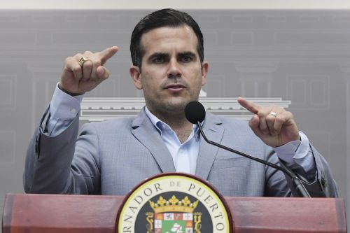 Embattled Puerto Rican governor won't seek another term