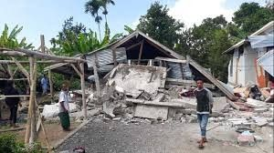 Second quake of 7.0 magnitude hits Indonesian island within a week, 29 dead