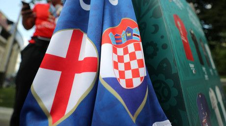 Croatia v England: Build-up to World Cup semi-final in Moscow