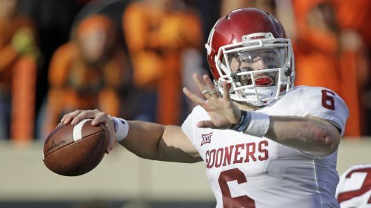 Baker Mayfield uses vulgar gesture to call out Kansas players