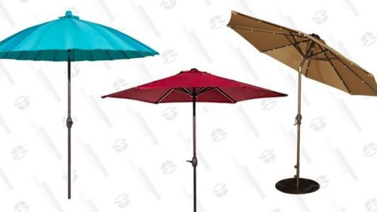 Shade Your Outdoor Space With These Discounted Patio Umbrellas