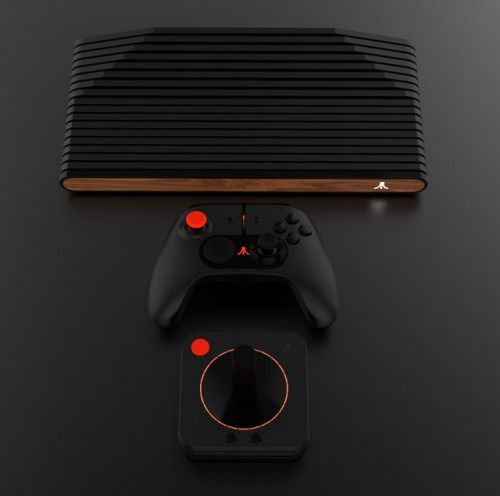 The New Retro Styled Atari VCS Reinvents Console Gaming Inspired