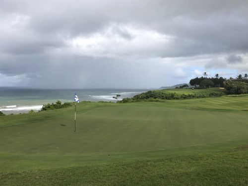 Kauai is a paradise - especially for golfers