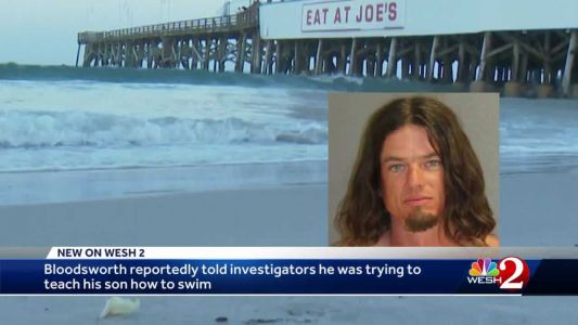 Father accused of throwing 5-year-old into Atlantic Ocean, yelling at him to swim