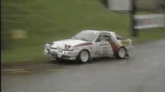 This Mitsubishi Starion Rally Car Crashed but Refused to Die