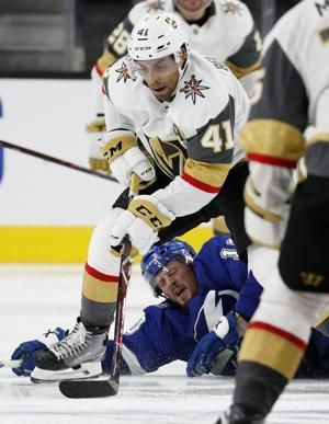 Lightning top Golden Knights 3-2, improve to 6-0-1 in last 7