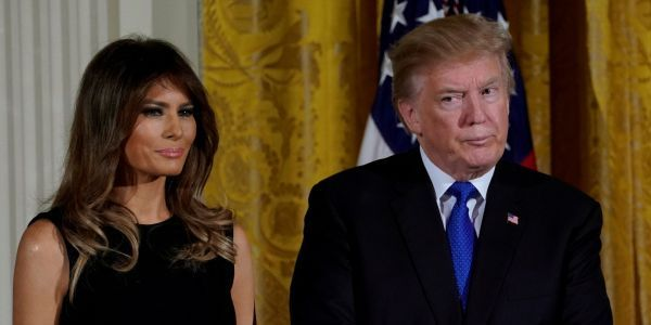 Trump reportedly showed a Playboy Bunny Melania's separate bedroom in Trump Tower, explaining that she 'liked her space'