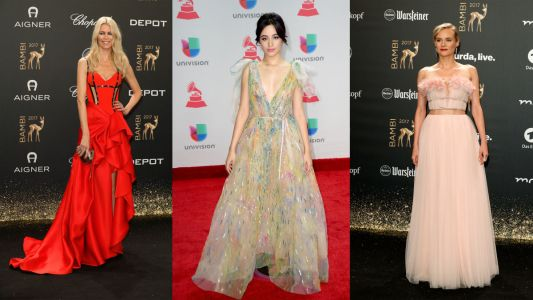Evening Gowns Were Surprisingly Prevalent on the Red Carpet This Week