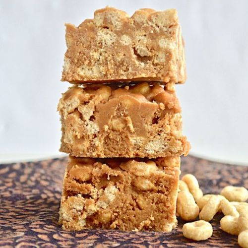 Butterscotch Honey Cereal Bars