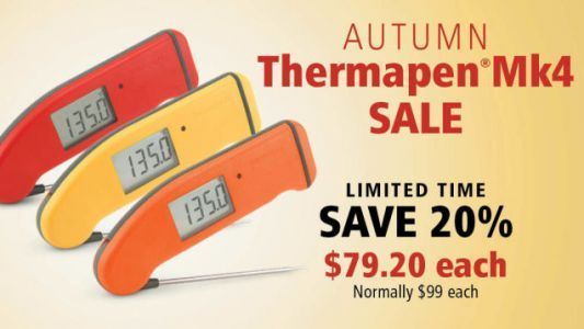 Save 20% On the Best Kitchen Thermometer, Just In Time For Thanksgiving Dinner