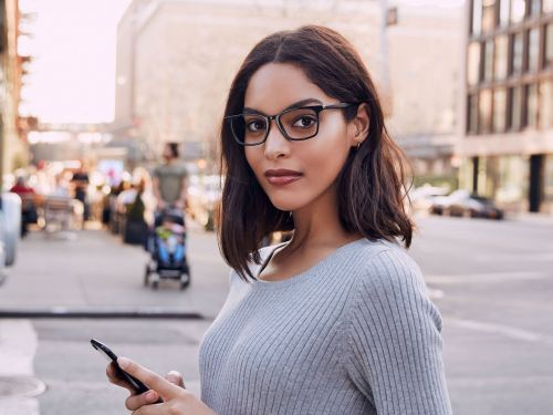 These computer glasses reflect blue light and prevent screen-induced headaches - and they're available with prescription lenses