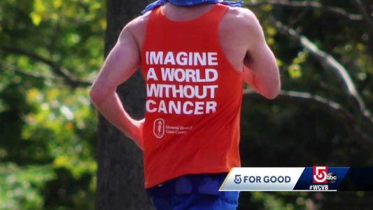 5 for Good: Beverly man runs solo marathon, raises funds to fight rare cancers