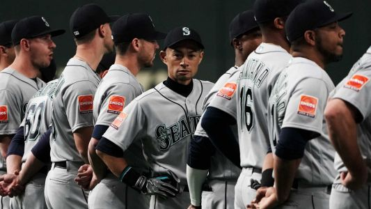Ichiro's opener in Tokyo was every emotion in one game