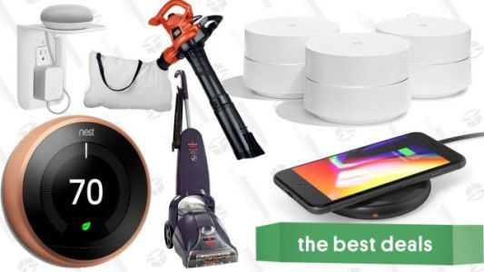 Saturday's Best Deals: Google Wifi, Nest Sale, Leaf Blowers, and More