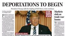 2016 Mock Front Page Eerily Foretells Trump World
