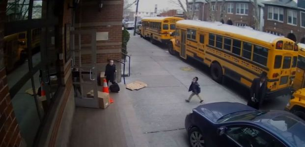 'Could have killed two or three': Video shows driver using sidewalk to pass young kids