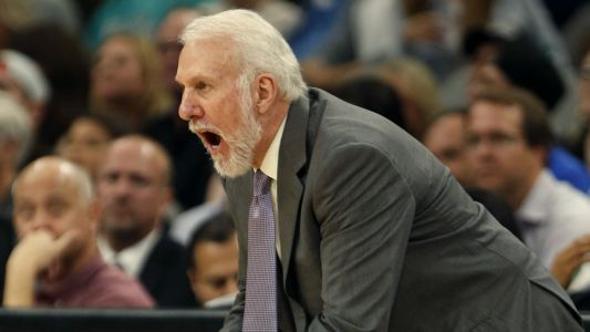 "NBA playoffs 2018: Gregg Popovich says Spurs ""looked like a deer in headlights"" in Game 1 loss to Warriors"
