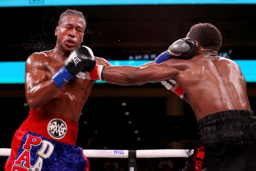A 27-year-old American boxer was knocked out in the 10th round of a fight, left on a stretcher, and is now in a coma