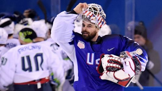Slovenia rallies to upset U.S. in men's hockey, 3-2