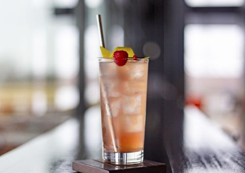 Rose 75: A French 75 Riff