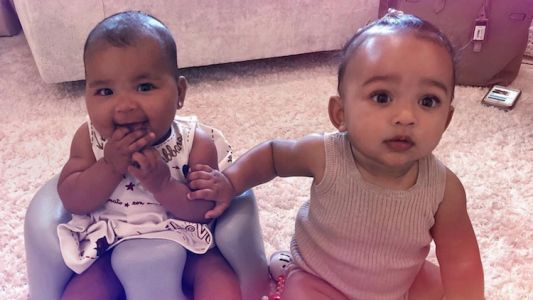 Chicago West And True Thompson Hold Hands After A 'Long Day' So Yeah, We're Officially Sobbing