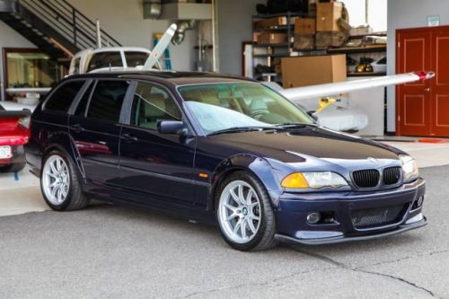 Does This Custom S54-Rocking 2001 BMW 325iX Touring Have the Balls to Ask $26,500?