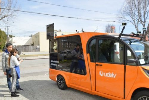 Autonomous vehicle startup Udelv inks grocery delivery deal in Oklahoma City