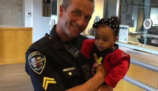 Body cam footage shows the harrowing moment officer saves choking 9-month-old baby