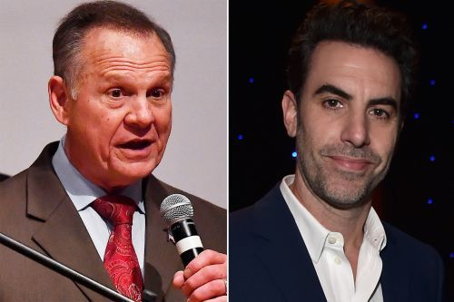 Roy Moore admits Sacha Baron Cohen tricked him too