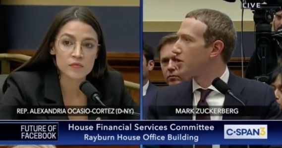 Watch the intense 3-minute exchange between AOC and Mark Zuckerberg where she pelted him with tough questions about Facebook
