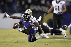 Except for 1 kick, Saints, Ravens are evenly matched