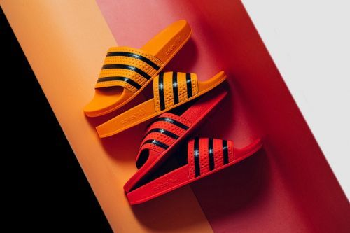 Adidas Originals's Adilette Takes on a Pair of Regal-Themed Color Schemes