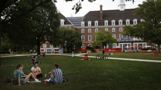 With Many Campuses Closed, Will College Students Turn Out To Vote?