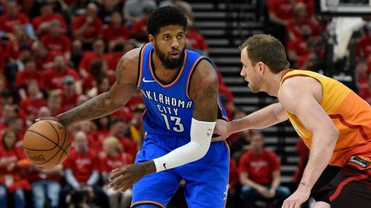 Thunder's Paul George, Jazz's Joe Ingles continue physical feud in Game 4