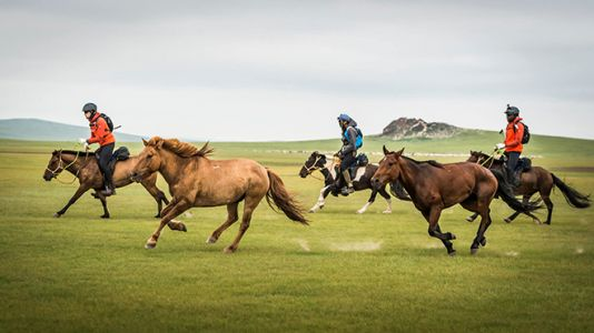 The Mongol Derby Retraces The Steps of Genghis Khan's Mighty Horse Messengers