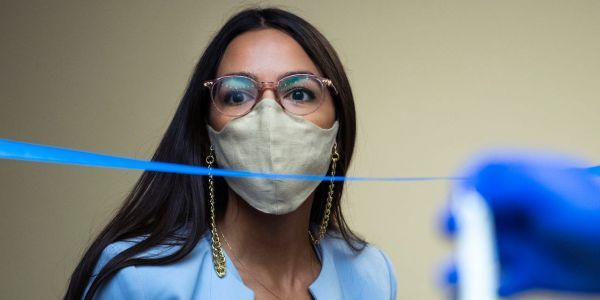 Alexandria Ocasio-Cortez urges Republican colleagues to stand up to death threats and vote for impeachment