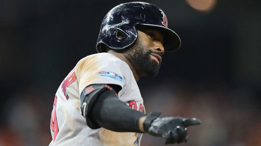 Red Sox's Jackie Bradley Jr. takes home ALCS MVP honors