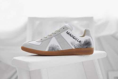 END. & Maison Margiela Add Graffiti Marks to 22 Replica Sneaker