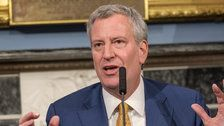 NYC Mayor Bill De Blasio Unveils Plan To Guarantee Health Care For All New Yorkers