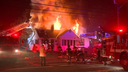 Raging fire rips through Braintree business