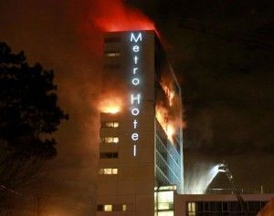 150 guests evacuated as Dublin's Metro hotel caught fire