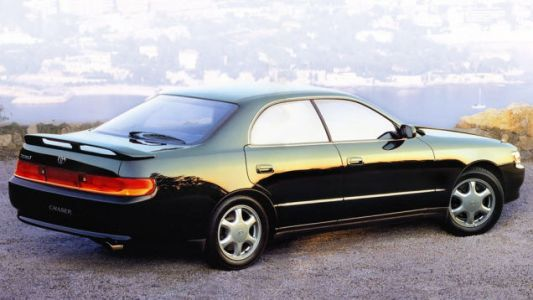 Here it is, the Toyota Chaser