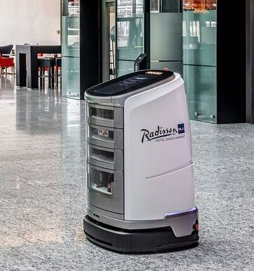 Radisson Blu Hotel Zurich launches new robot assistant