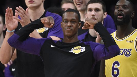 WATCH: Rajon Rondo, Chris Paul exchange punches in Lakers' home opener