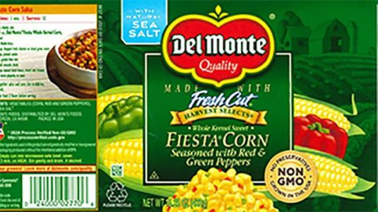 Del Monte recalls select cans of corn distributed in 25 states