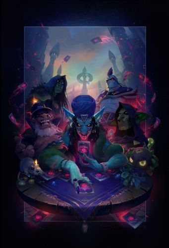 Hearthstone: Rise of Shadows interview - Assembling the League of E.V.I.L. on April 9