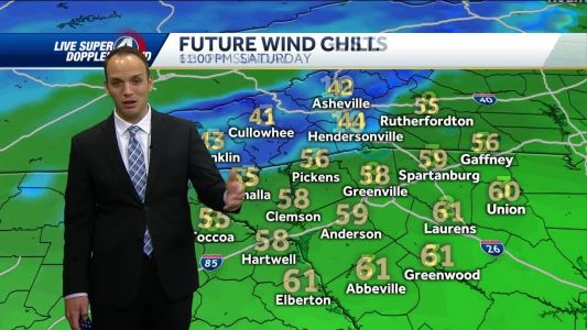 Videocast: Strong Winds and Cold Air Move In