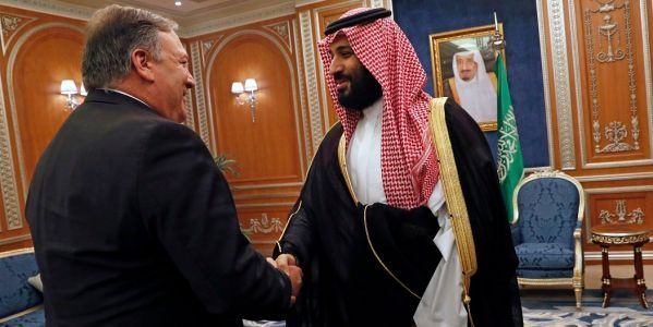 Saudi Arabia paid the US $100 million on the same day Mike Pompeo visited Riyadh to discuss Jamal Khashoggi's disappearance