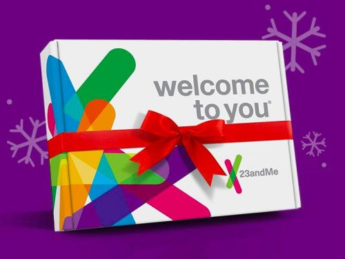 You can save $50 on a 23andMe genetic test kit this holiday season